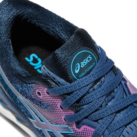 asics Gel-Nimbus 23 Shoes Women grand shark/digital aqua